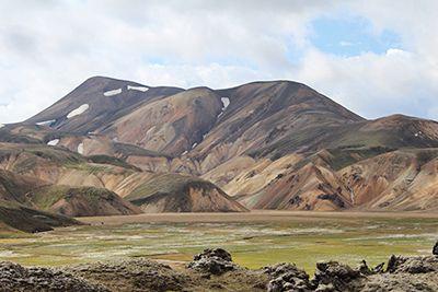 Islandija Landmannalaugar