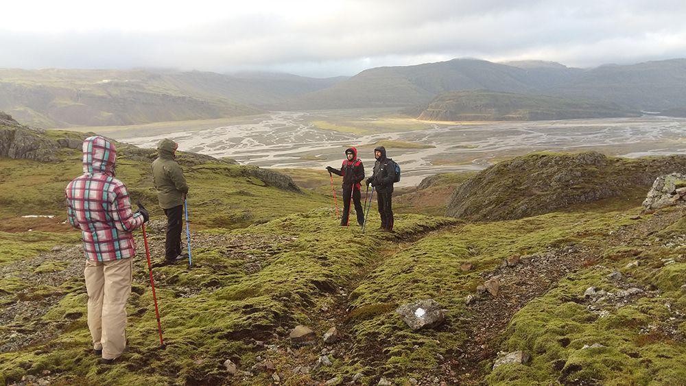 Keliautojai Islandijoje