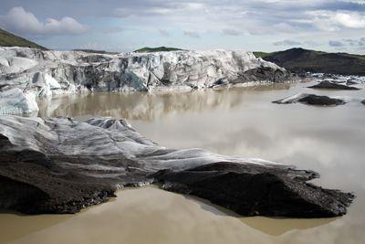 Ledynų liežuvis Islandijoje