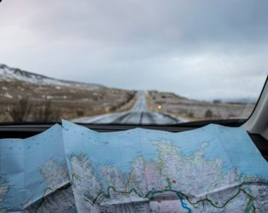 Kelionės maršrutas Islandija