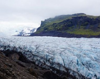 ledyno liežuvis Islandija